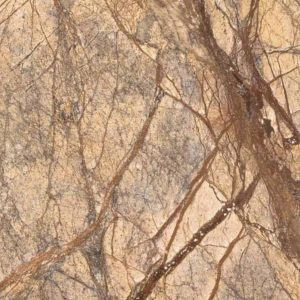 Brown Rain Forest Colorful Marble